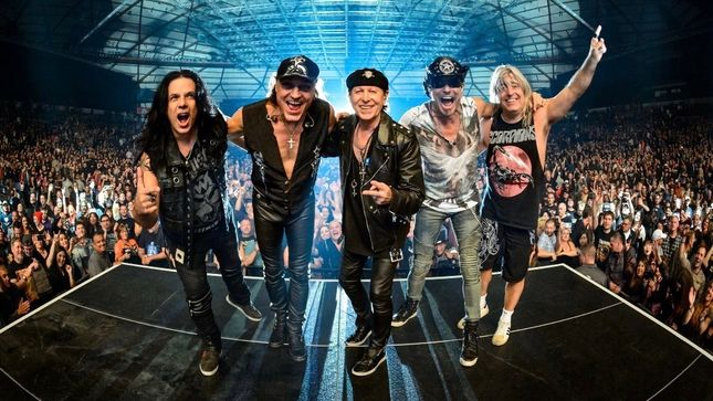 SCORPIONS - Rescheduled US Crazy World Tour Dates With QUEENSRŸCHE Kick Off In August