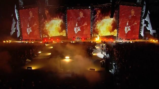 METALLICA - June 2017 Pro-Shot Footage Of