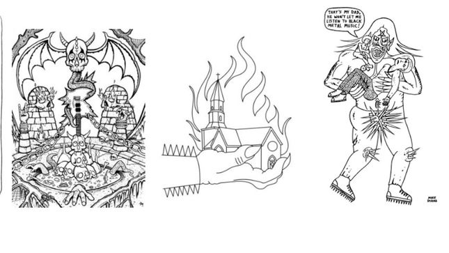 Paint It Black The Black Metal Coloring Book Available Soon