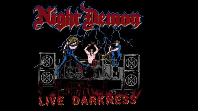 "NIGHT DEMON Streaming ""Screams In The Night"" From Upcoming Triple Live Album, Live Darkness"