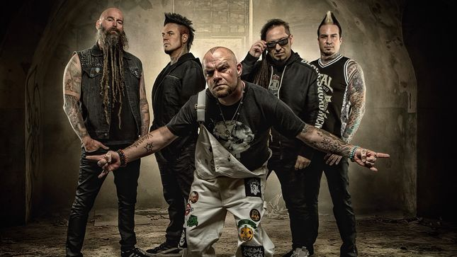 "FIVE FINGER DEATH PUNCH – ""Sham Pain"" Hits #1 At Rock Radio"