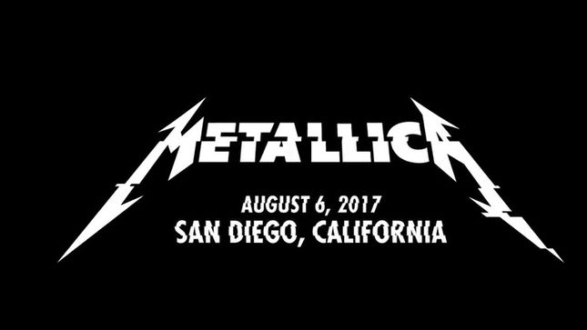 "METALLICA - Pro-Shot Of ""Creeping Death"" In San Diego"