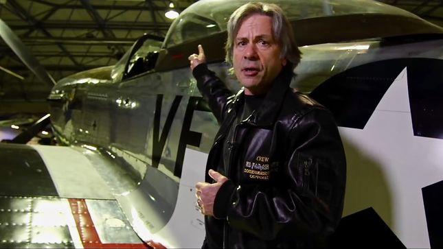 IRON MAIDEN Singer BRUCE DICKINSON's Warplanes Diaries Episode #9: P51 Mustang NA-73 (Video)