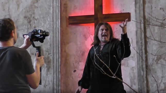 "MICHAEL SCHENKER FEST - ""Take Me To The Church"" Music Video 'Making Of' Footage Released"