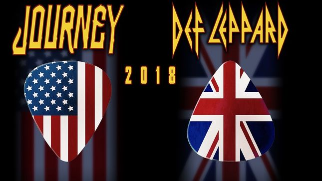 Report: JOURNEY / DEF LEPPARD Tour Hits $50 Million (And Counting), $20 Million In Stadiums