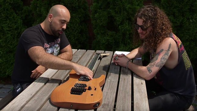 Shredders Of Metal Champion FRANKIE CARACCI Discusses Jackson DK2 Guitar; Video