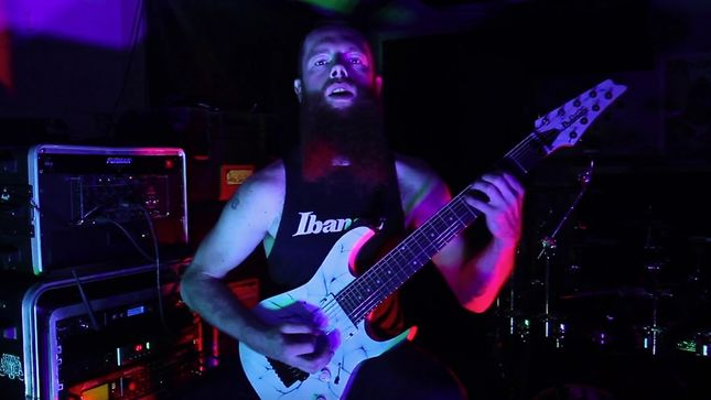 "REAPING ASMODEIA - ""Carnal Declivity"" Guitar Playthrough Video Streaming"