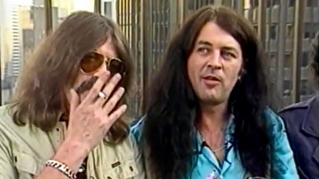 DEEP PURPLE - Canada's MuchMusic Covers Band's 1984 Reunion; Rare Video Streaming