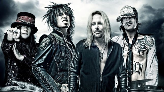 "MÖTLEY CRÜE - ""We Have A Surprise That Will Confirm That We're Outta Our Minds"""