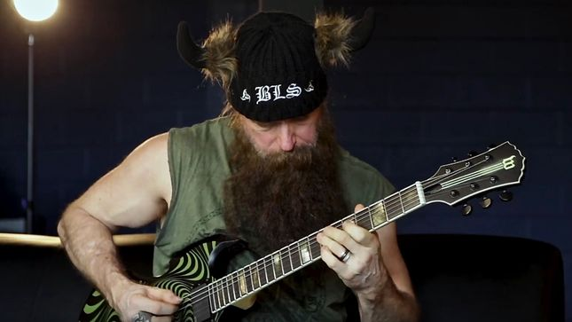 "ZAKK WYLDE Discusses Influence Of TT QUICK Guitarist DAVE DiPIETRO - ""Seeing Dave Play Every Night Was Like A Guitar Lesson""; Video"