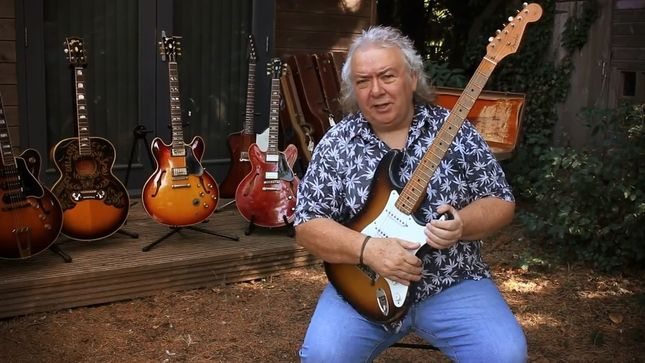 "WHITESNAKE Legend BERNIE MARSDEN Talks About His ""Unusual"" Fender Stratocaster NSA; Video"
