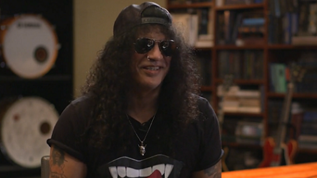 "GUNS N' ROSES Guitarist SLASH Talks Appetite For Destruction - ""Some Songs Were Sort Of Sexist In Their Own Way""; Video Interview"