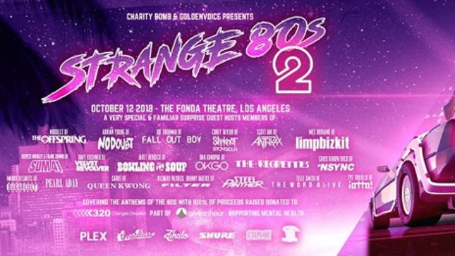 Members Of SLAYER, ANTHRAX, SLIPKNOT, And More Confirmed For Strange 80s 2 Benefit Concert