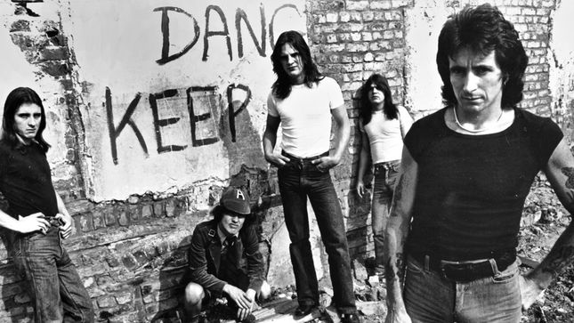 AC/DC 1973-1980: The BON SCOTT Years - New Book To Be Published In November