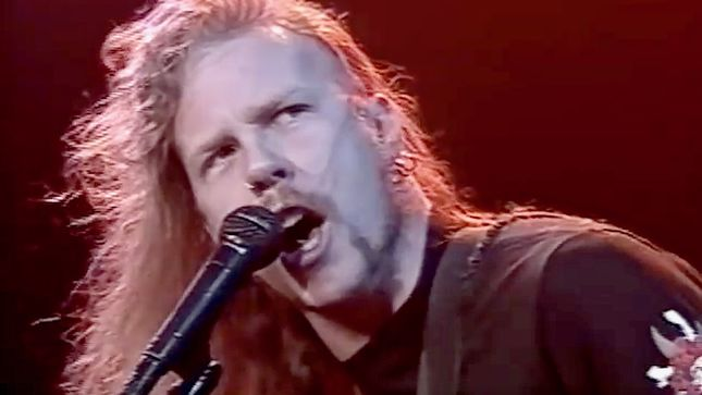 "METALLICA - Rare ""Blackened"" Live Video From 1989 Surfaces"