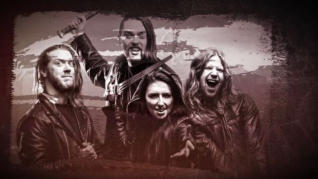 "UNLEASH THE ARCHERS Release ""Ten Thousand Against One"" Lyric Video"