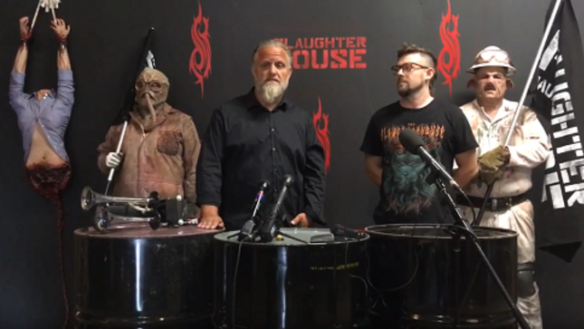 SLIPKNOT Slaughterhouse Set To Terrorize Iowa In October