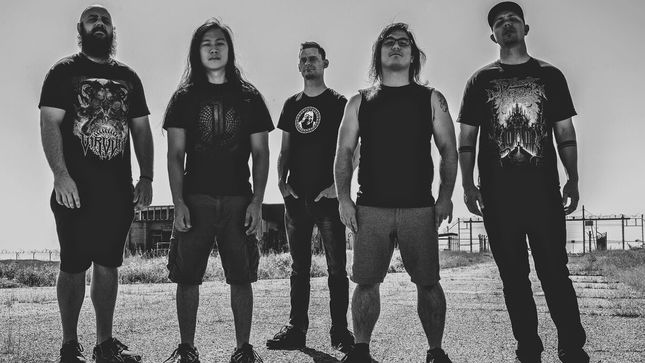 "THE ODIOUS CONSTRUCT Streaming ""Shrine Of The Obscene"" Guitar, Drum Playthrough Video"