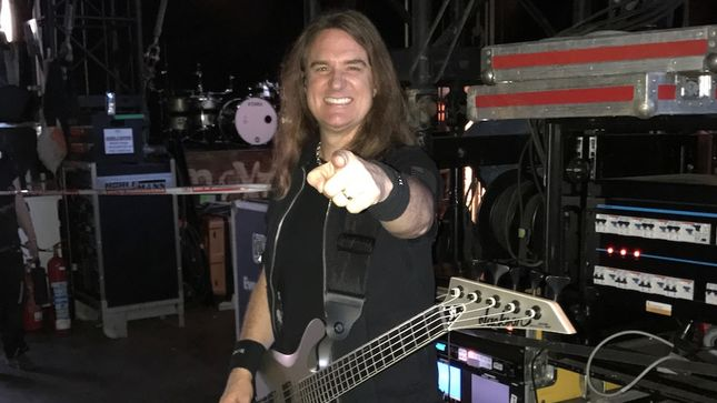 Win Tickets, Get Up Close And Personal For MEGADETH Bassist DAVID ELLEFSON's Riffs And Repartee Tour