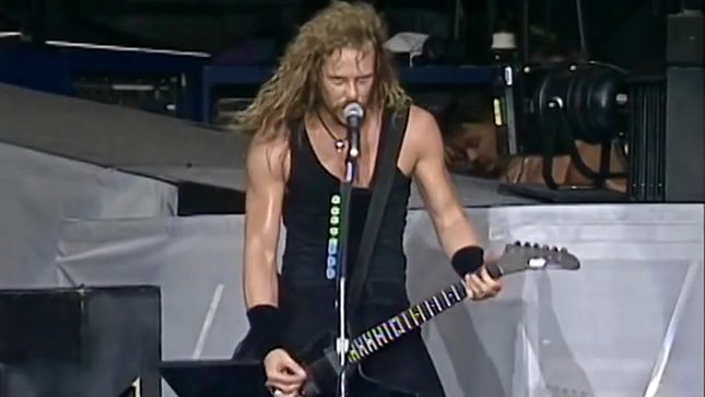 "METALLICA Uploads Rare 1992 Live Video Performing ""The Shortest Straw"" In Washington, D.C."