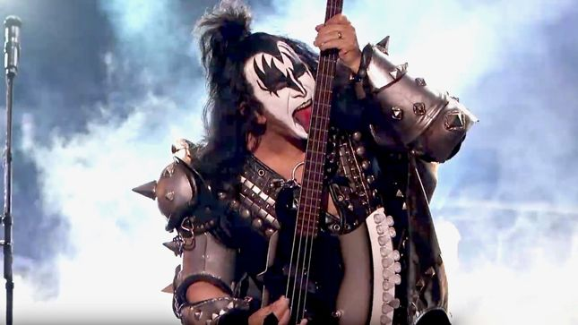 "GENE SIMMONS - ""There May Be A KISS Box Set Coming, A Big One"""