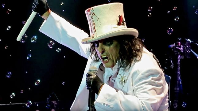 "ALICE COOPER - ""KEITH RICHARDS Will Not Call Me Alice""; Video"