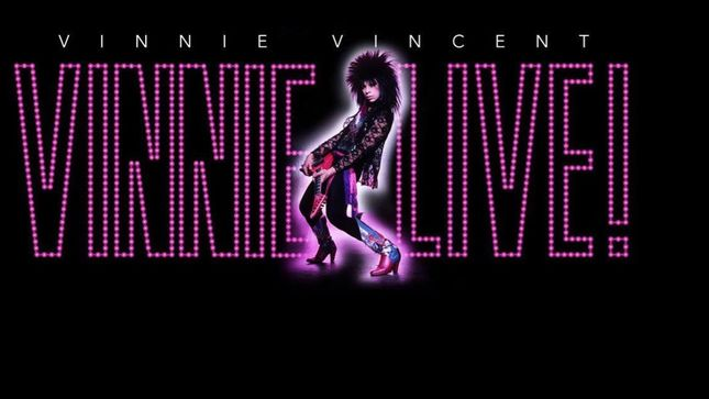 "VINNIE VINCENT - Former KISS Guitarist's Two Graceland Shows Will Now Be ""Full Shred"""