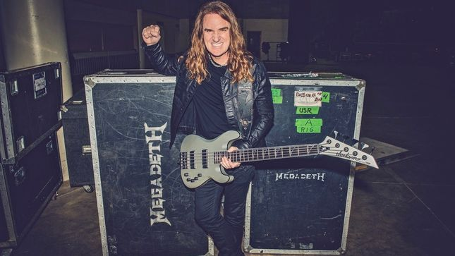 MEGADETH Bassist DAVID ELLEFSON – New Book, More Life With Deth, Due In Fall 2019