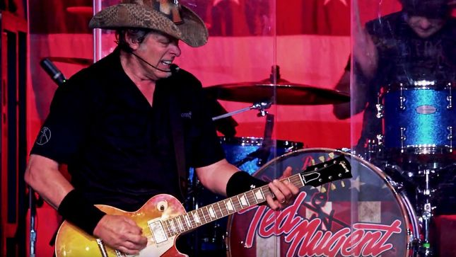 TED NUGENT To Release The Music Made Me Do It CD / DVD In November; Music Video For Title Track Streaming