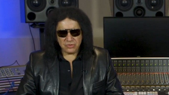 "GENE SIMMONS - ""Anything I Ever Dreamed Of, If I'm Willing To Work For It, Comes True""; Video Interview"