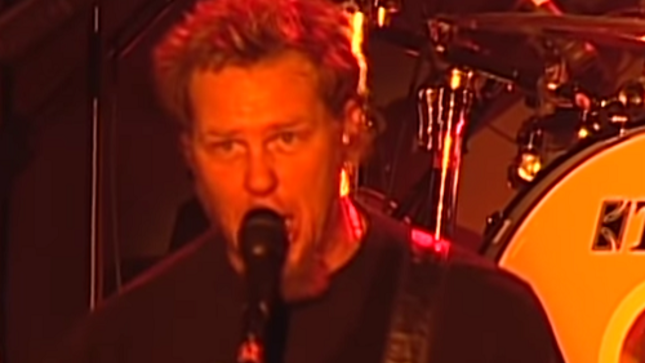 METALLICA Uploads Rare 1999 Live Video Performing