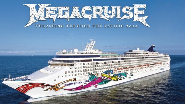 MEGADETH - Complete Details Revealed For 2019 Megacruise; DORO, METAL CHURCH, DANKO JONES And More Added