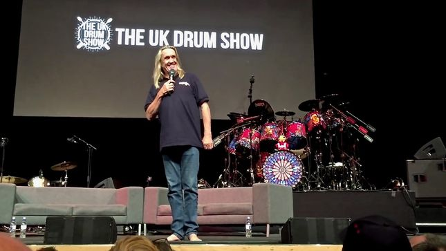 IRON MAIDEN Drummer NICKO MCBRAIN At 'An Evening With Nicko McBrain' Event In Manchester; Video