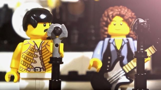 "QUEEN Classic ""Don't Stop Me Now"" Gets LEGO Treatment; Video"