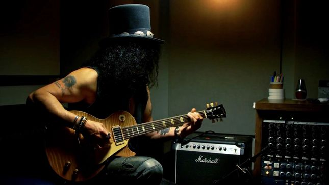 SLASH Featured In New Episode Of Ernie Ball's Unspoken Expressions; Video