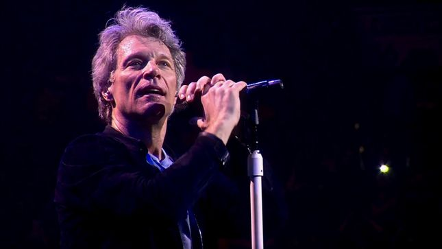"BON JOVI Performs ""Roller Coaster"" In Philadelphia; Official Live Video Streaming"