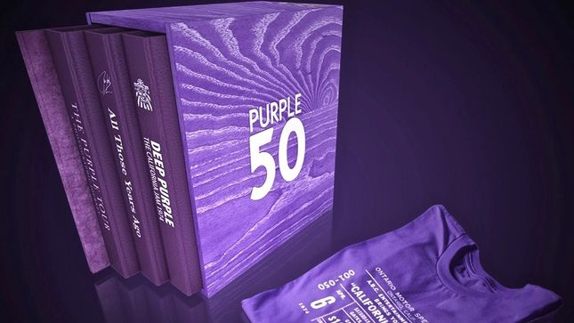 DEEP PURPLE 50 - Ultimate Book Collection To Ship In December