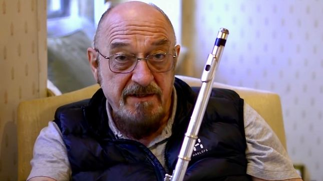 JETHRO TULL To Release First Official Book, The Ballad Of Jethro Tull; IAN ANDERSON Announcement Video Streaming