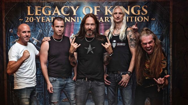 HAMMERFALL Release Legacy Of Kings - 20 Year Anniversary Edition Boxset; Video Trailer #2 Streaming