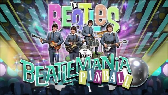 Stern Pinball Announces First And Only The Beatles Pinball Machine Ever Made