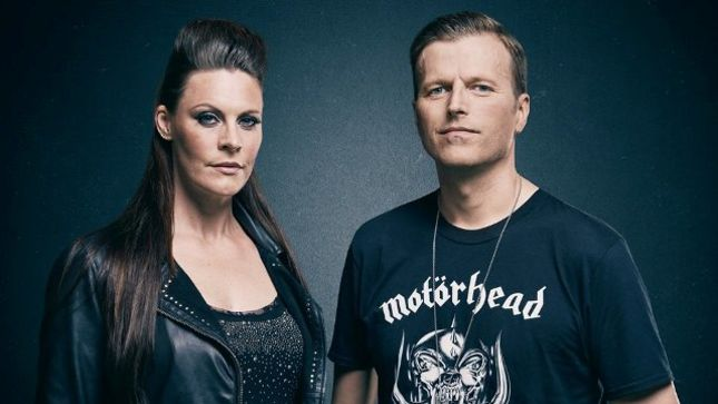 NORTHWARD - How NIGHTWISH Vocalist FLOOR JANSEN Met PAGAN'S MIND Guitarist JORN VIGGO LOFSTAD (Video)