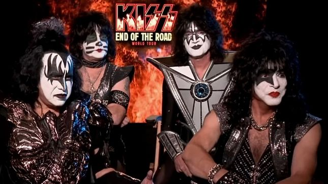 KISS Takes Over Times Square For Halloween
