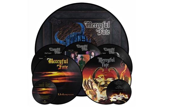MERCYFUL FATE - Picture Disc LP Reissues Of 9, Dead Again, Into The Unknown Albums Due In December