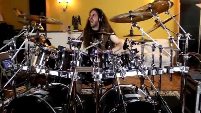 "DECREPIT BIRTH Drummer SAMUS PAULICELLI Posts Cover Of METALLICA's ""Master Of Puppets"" (Video)"