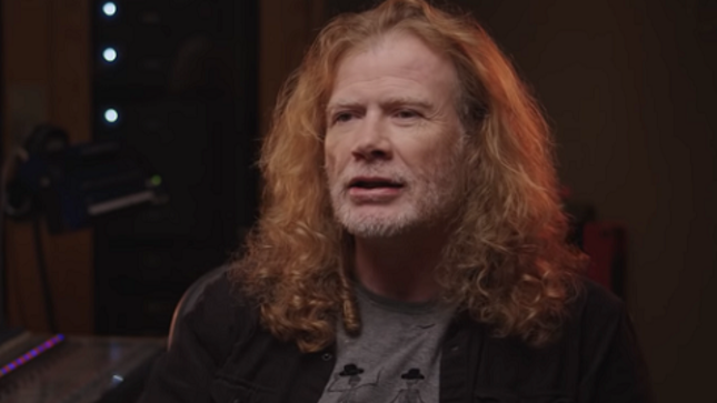 "MEGADETH - DAVE MUSTAINE Reveals ""I Felt Tons Of Pressure Making Peace Sells"" In New Video Interview"