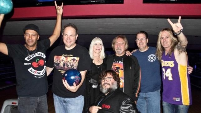 RONNIE JAMES DIO - 4th Annual Bowl For Ronnie Event Raises $74,000 For Stand Up And Shout Cancer Fund