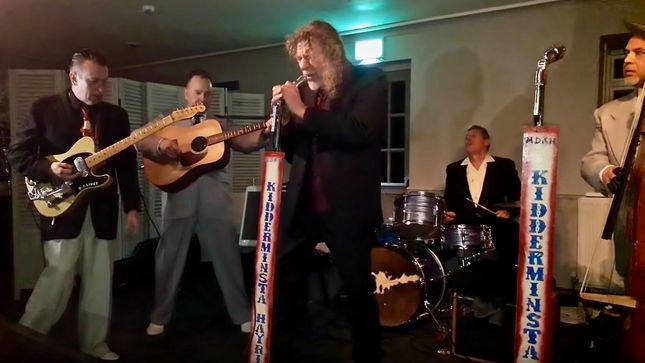 ROBERT PLANT Performs ELVIS PRESLEY Classics With THE HAYRIDERS; Video