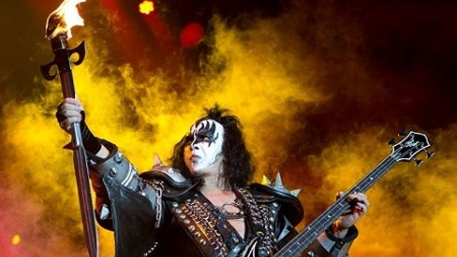 KISS - GENE SIMMONS' Fire Breathing / Stage-Torched Sword Available For Purchase On End Of The Road Tour