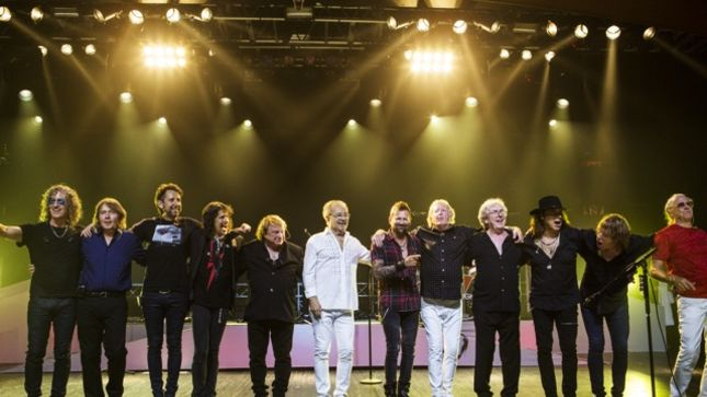 Classic FOREIGNER Line-Up Performs Live In Atlantic City On At Double Vision: Then And Now Show (Video)