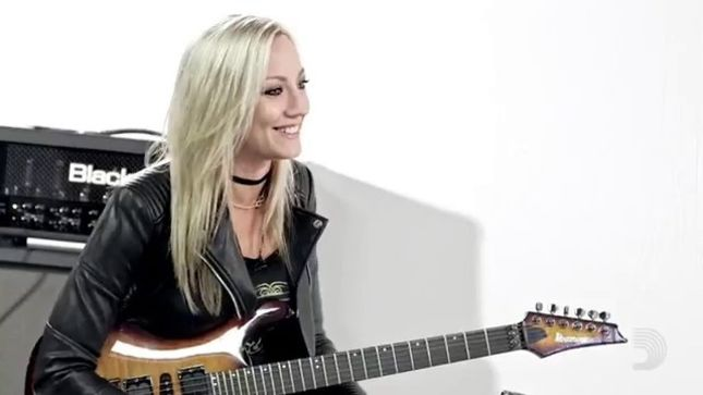 "ALICE COOPER Guitarist NITA STRAUSS Talks Battle With Alcohol And Getting Sober - ""The Thing That Still Drives Me To Stay Sober Is All The Blessings That Have Come Into My Life"""